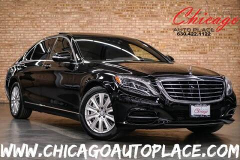 2014 Mercedes-Benz S-Class S 550 4MATIC for sale at Chicago Auto Place in Bensenville IL