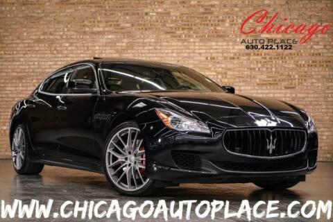 2014 Maserati Quattroporte S Q4 for sale at Chicago Auto Place in Bensenville IL