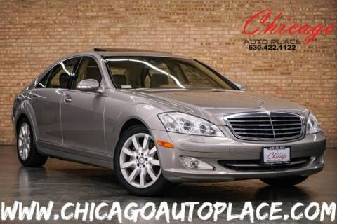 2008 Mercedes-Benz S-Class S 550 4MATIC for sale at Chicago Auto Place in Bensenville IL