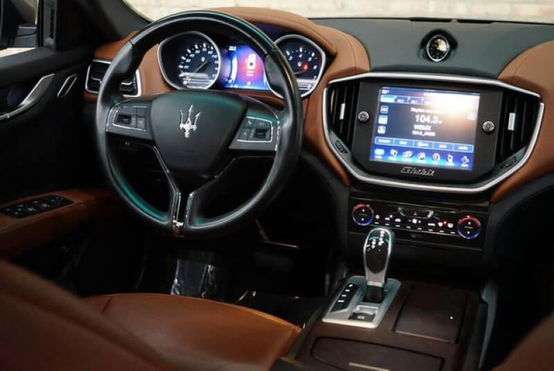 2016 Maserati Ghibli AWD S Q4 4dr Sedan - Bensenville IL