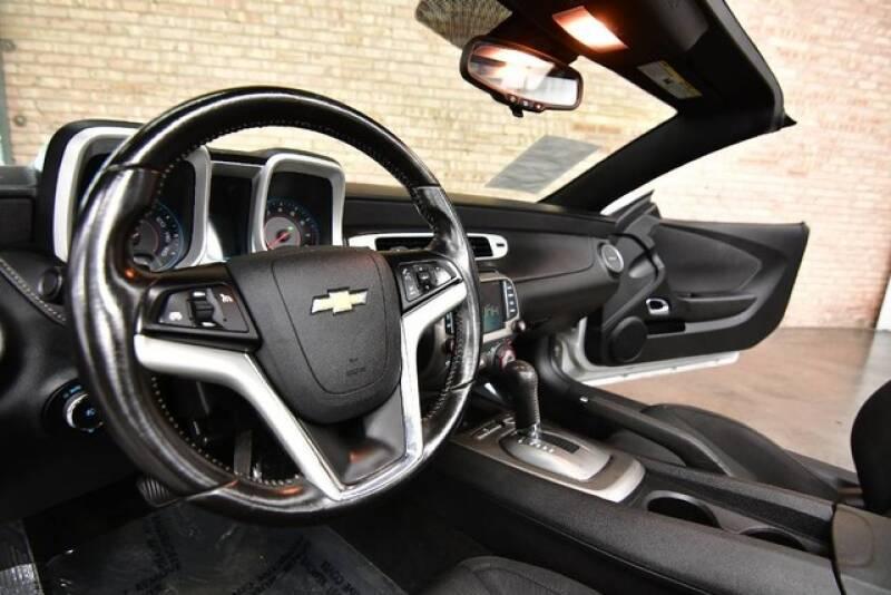 2015 Chevrolet Camaro LT 2dr Convertible w/1LT - Bensenville IL