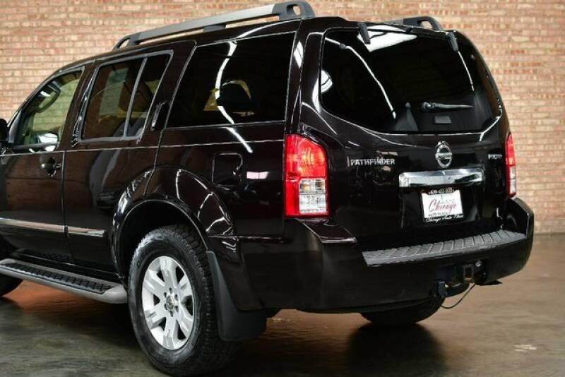 2011 Nissan Pathfinder 4x4 Silver Edition 4dr SUV - Bensenville IL