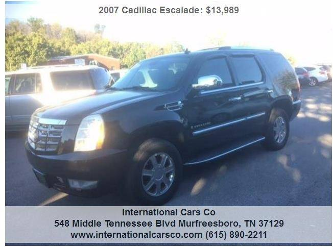 2007 escalade running board motor