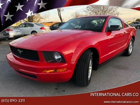 2007 Ford Mustang for sale in Murfreesboro, TN