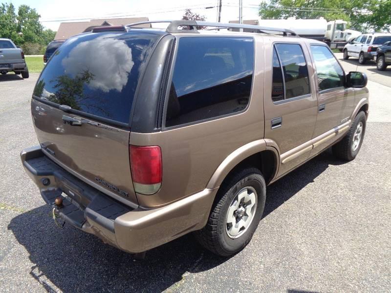 2002 Chevrolet Blazer LS 4WD 4dr SUV - Dillonvale OH