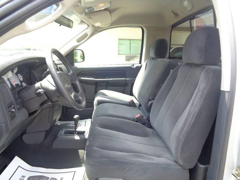 2003 Dodge Ram Pickup 1500 2dr Regular Cab SLT 4WD SB - Dillonvale OH