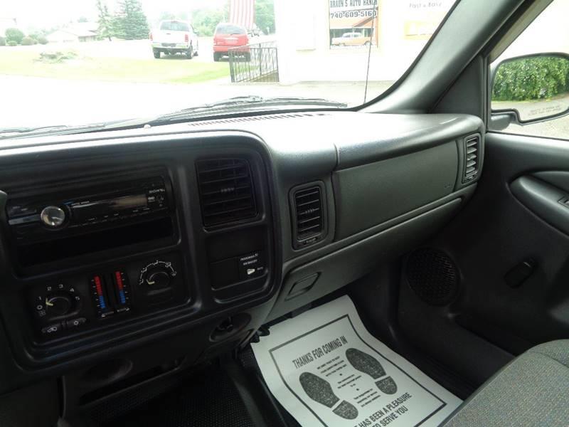 2003 Chevrolet Silverado 1500 2dr Standard Cab LS 4WD SB - Dillonvale OH