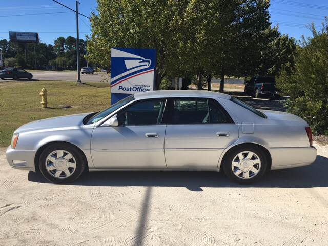 2002 Cadillac DeVille for sale at Carolina Car Country in Little River SC