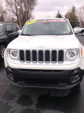 2017 Jeep Renegade for sale in Edinboro, PA