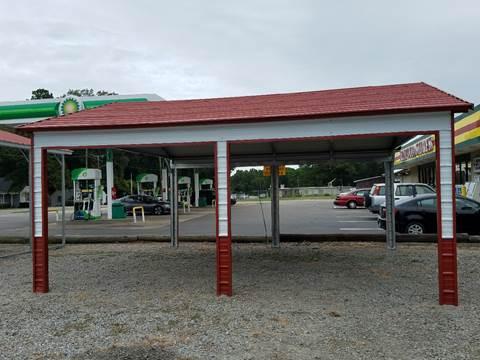 Z---Double Carport for sale at Rocky Mount Motors in Battleboro NC