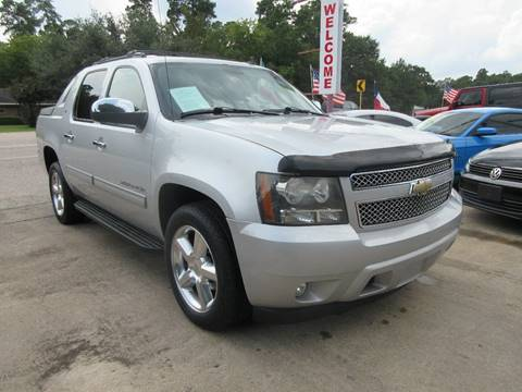 2011 Chevrolet Avalanche for sale in Cypress, TX