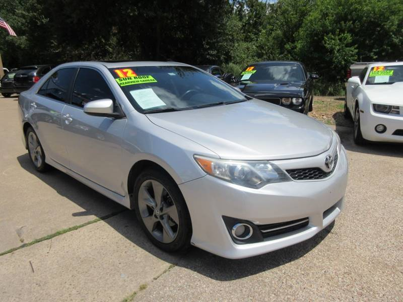 2012 Toyota Camry For Sale At VSA MotorCars In Cypress TX