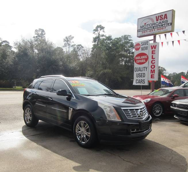 2013 Cadillac Srx Luxury Collection In Cypress Tx Vsa Motorcars
