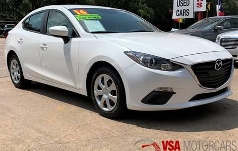 2016 Mazda MAZDA3 for sale in Cypress, TX