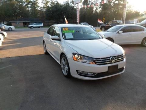 2012 Volkswagen Passat for sale in Cypress, TX