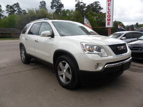 2011 GMC Acadia for sale in Cypress, TX