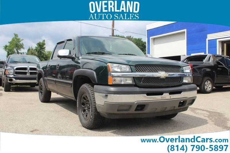 new product 5365b 04cb1 2005 Chevrolet Silverado 1500 4dr Crew Cab LS 4WD SB - Erie PA