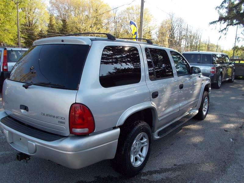 2003 Dodge Durango SLT Plus 4WD 4dr SUV - Erie PA