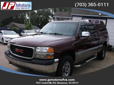 1999 GMC Sierra 2500 for sale in Manassas, VA