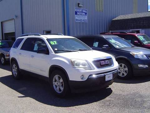 2007 GMC Acadia for sale in Amarillo, TX