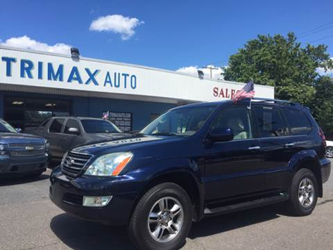 2008 Lexus GX 470 for sale at Trimax Auto Group in Norfolk VA