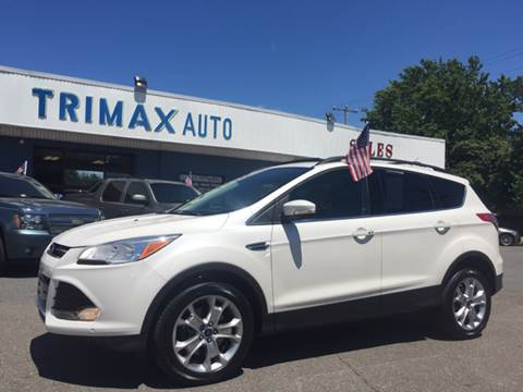 2013 Ford Escape for sale at Trimax Auto Group in Norfolk VA