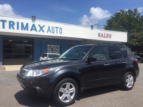 2009 Subaru Forester for sale at Trimax Auto Group in Norfolk VA