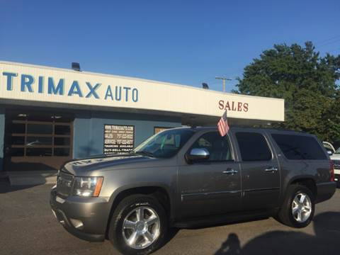 2009 Chevrolet Suburban for sale at Trimax Auto Group in Norfolk VA
