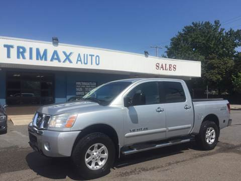 2006 Nissan Titan for sale at Trimax Auto Group in Norfolk VA