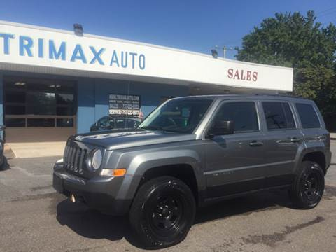 2011 Jeep Patriot for sale at Trimax Auto Group in Norfolk VA