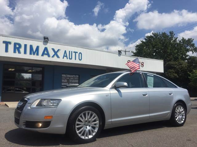 2007 Audi A6 for sale at Trimax Auto Group in Norfolk VA