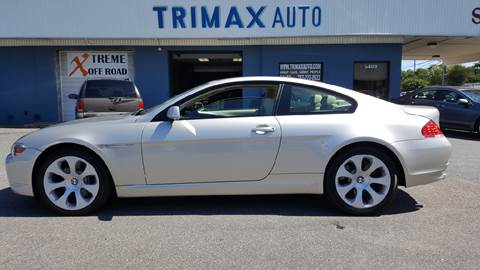 2006 BMW 6 Series for sale at Trimax Auto Group in Norfolk VA