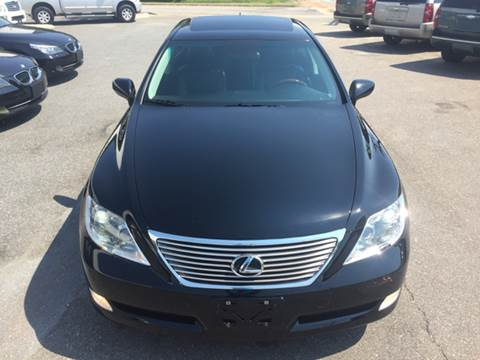 2008 Lexus LS 460 for sale at Trimax Auto Group in Norfolk VA