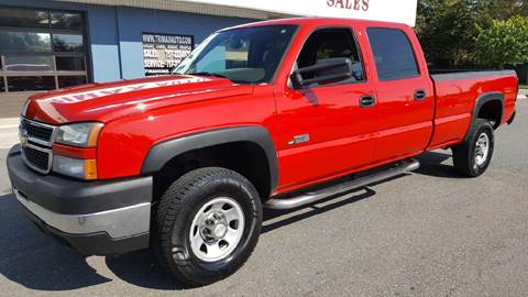 2006 Chevrolet Silverado 3500 for sale at Trimax Auto Group in Norfolk VA