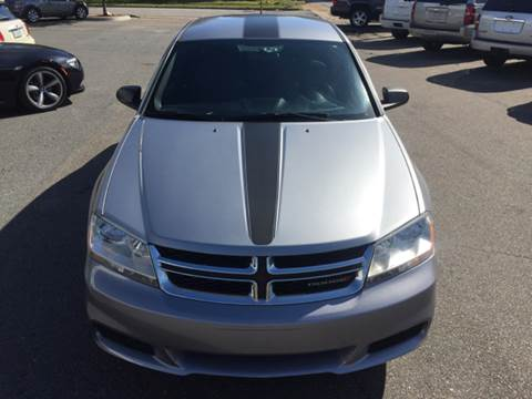 2013 Dodge Avenger for sale at Trimax Auto Group in Norfolk VA