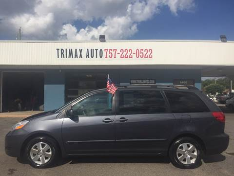2009 Toyota Sienna for sale at Trimax Auto Group in Norfolk VA