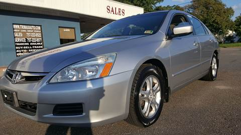 2007 Honda Accord for sale at Trimax Auto Group in Norfolk VA