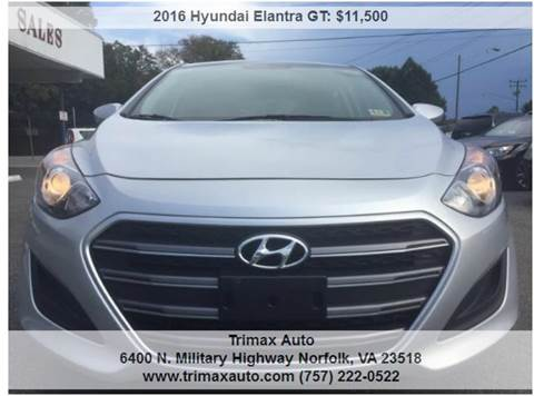2016 Hyundai Elantra GT for sale at Trimax Auto Group in Norfolk VA