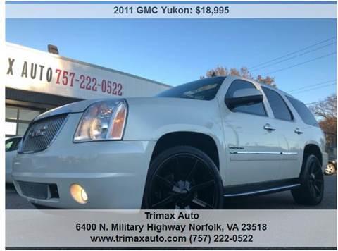 2011 GMC Yukon for sale in Norfolk, VA