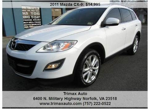 2011 Mazda CX-9 for sale at Trimax Auto Group in Norfolk VA