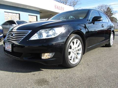 2011 Lexus LS 460 for sale at Trimax Auto Group in Norfolk VA