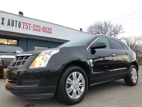 2011 Cadillac SRX for sale at Trimax Auto Group in Norfolk VA