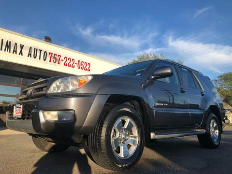 2003 Toyota 4Runner for sale at Trimax Auto Group in Norfolk VA