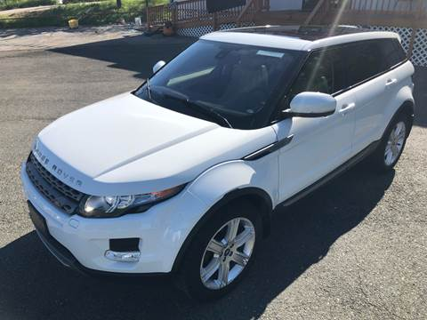 2013 Land Rover Range Rover Evoque for sale at Trimax Auto Group in Norfolk VA