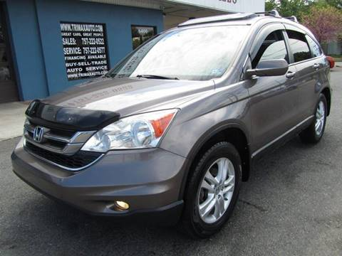 2011 Honda CR-V for sale at Trimax Auto Group in Norfolk VA
