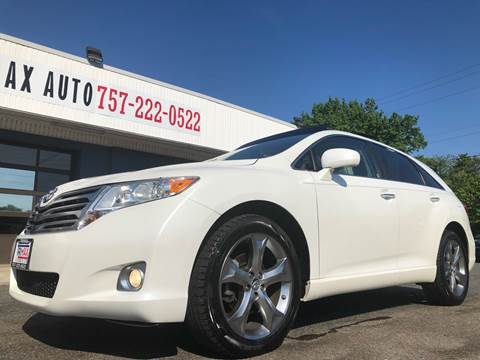 2010 Toyota Venza for sale at Trimax Auto Group in Norfolk VA