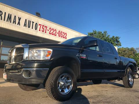 2009 Dodge Ram Pickup 2500 for sale at Trimax Auto Group in Norfolk VA