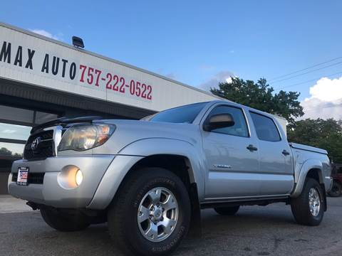 2011 Toyota Tacoma for sale at Trimax Auto Group in Norfolk VA