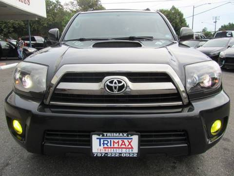 2007 Toyota 4Runner for sale at Trimax Auto Group in Norfolk VA
