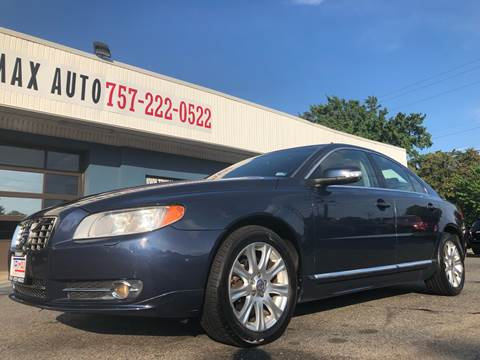 2010 Volvo S80 for sale at Trimax Auto Group in Norfolk VA